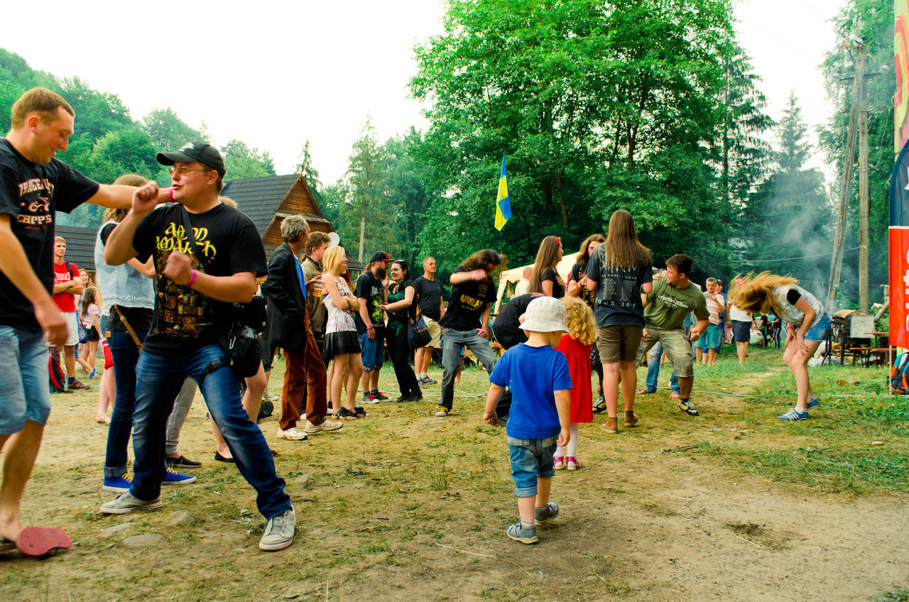 Celebration Summer Fastival People Watching Children Summertime Ukraine Music Togetherness Musicians Yaremche Folk Friendship Concert Vacation Time Rock'n'Roll Men People Vacation Nature Photography In Motion Music Brings Us Together Outdoor Photography DANCE ♥ Dancing