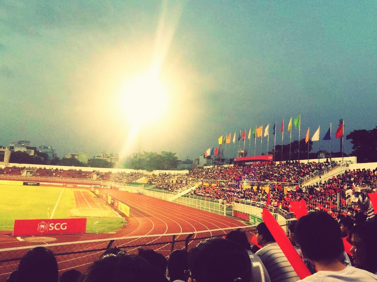 Saigonese Football Match TDT:BK-3:1 My University Are Rock TDTU I'm so happy because my friends were there with me ❤️