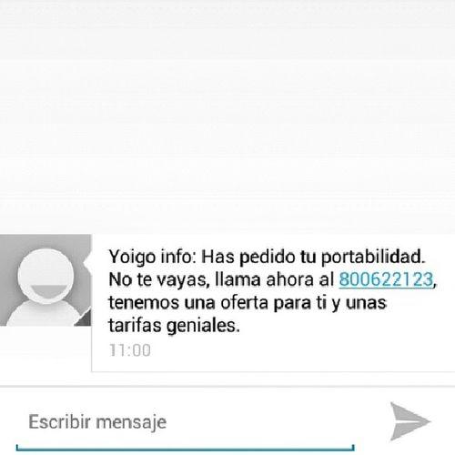 Jajajaja AyquemeLOL Ahora te llamo @somosyoigo, ahora mismo ^_^