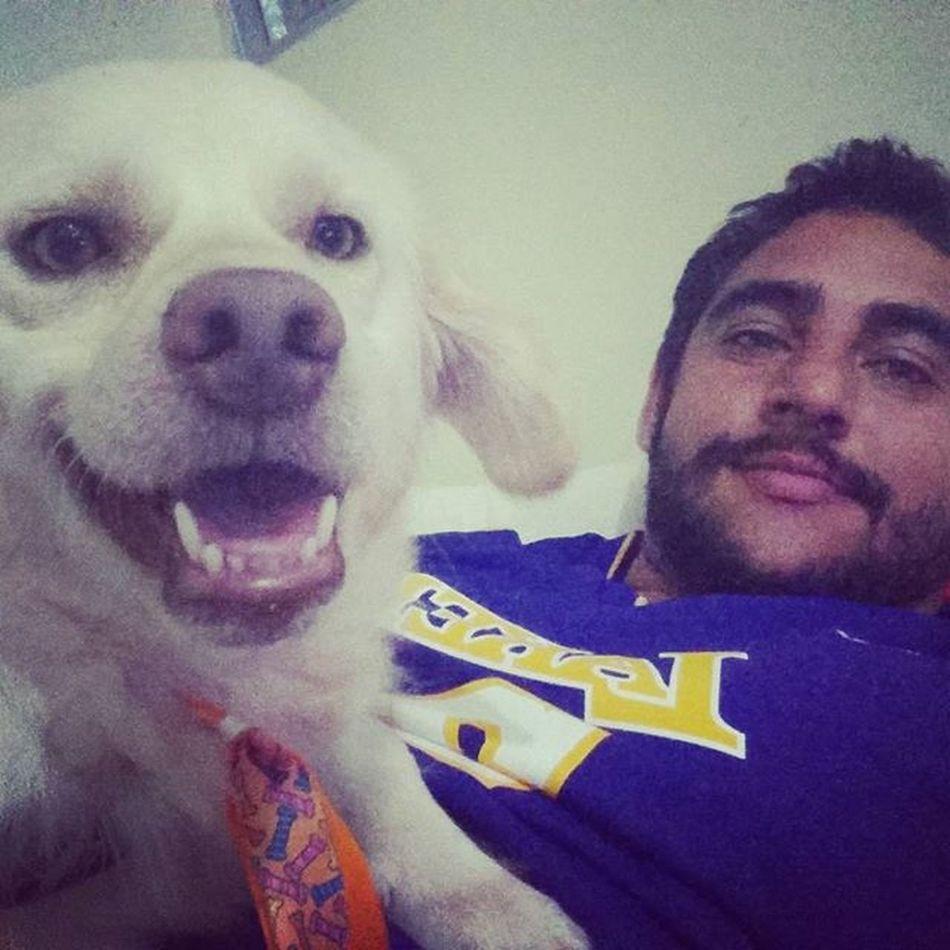 Assistindo NFL com o meu filho! Doglover Dog Son NFLonTV