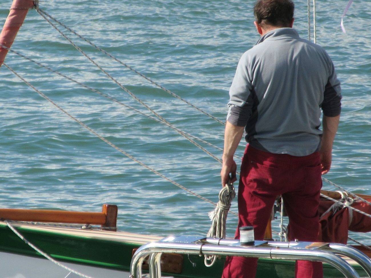 Going sailing Sailboat Yachtsman Ropes RiggingSailing Baltimore Ireland West Cork Wildatlanticway Ireland