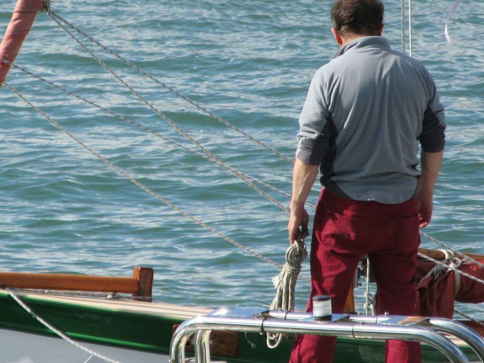 Going sailing Sailboat Yachtsman Ropes RiggingSailing Baltimore Ireland West Cork Wildatlanticway Ireland