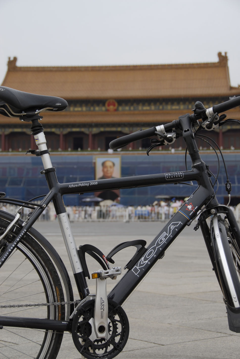 Cycling Beijing Architecture Beijing, China Bicycle Bicycle Rack China Close-up Day Focus On Foreground Land Vehicle Mode Of Transport No People Outdoors Stationary Transportation