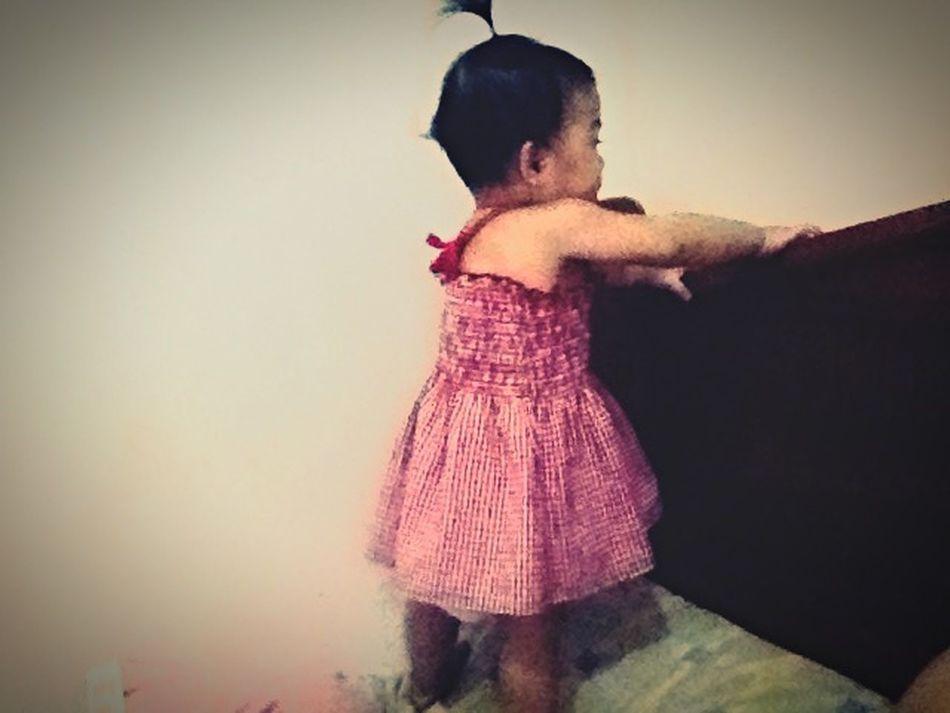 Balancing Act Baby Babybalance Babygirl Proud Mommy
