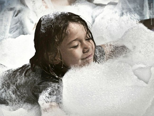 Foam Party Happiness Taking Photos Street Portrait Portrait Photography Portrait Of A Child Portraiture Portraits Of EyeEm Portrait Of Innocence Children Photography Party Time Foam Happy People