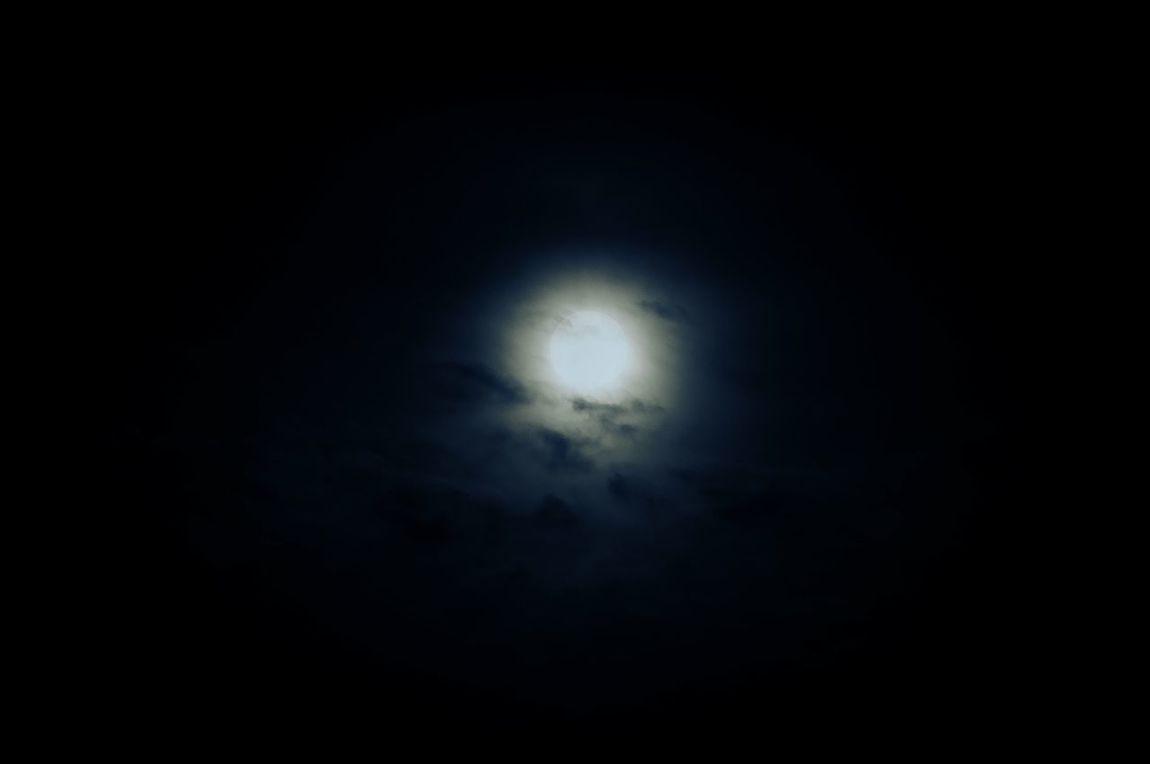 Moon Night Sochi Clouds Yolo