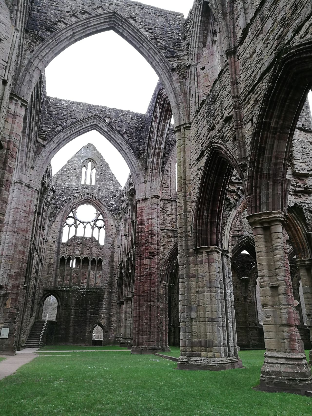 History Built Structure No People Arch Building Exterior Tinternabbey Architecture Tranquil Scene Outside Photography Beauty Of Decay Decay And Dereliction