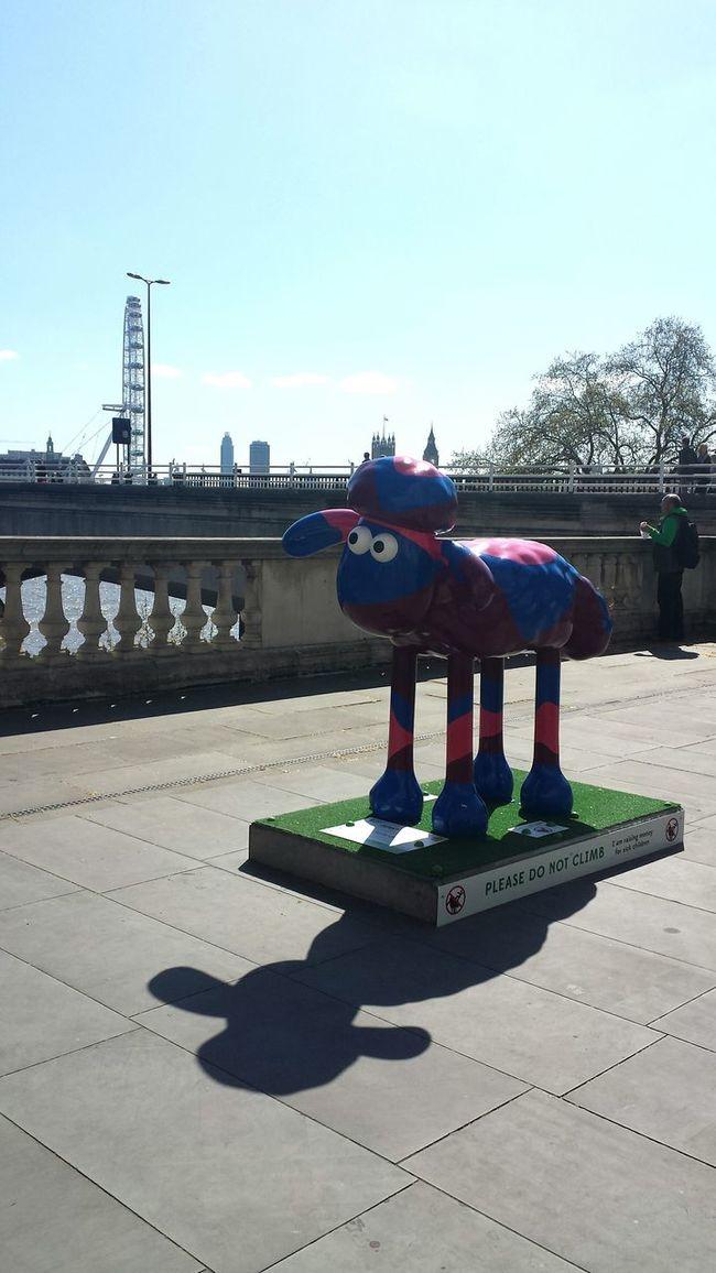 City View  Sheep Statue London