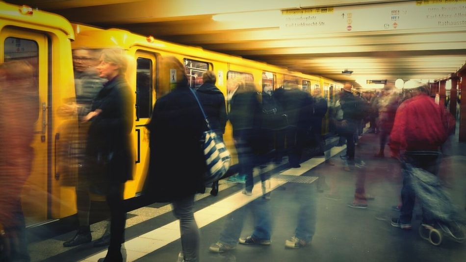 Beautiful stock photos of action, Blurred Motion, City Life, Indoors, Large Group Of People