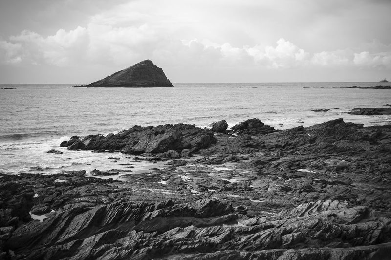 Black And White Coast Hard Island Seashore Skyline Soft Texture And Surfaces Tide Tidepools The KIOMI Collection Wembury Beach TakeoverContrast Lost In The Landscape Perspectives On Nature
