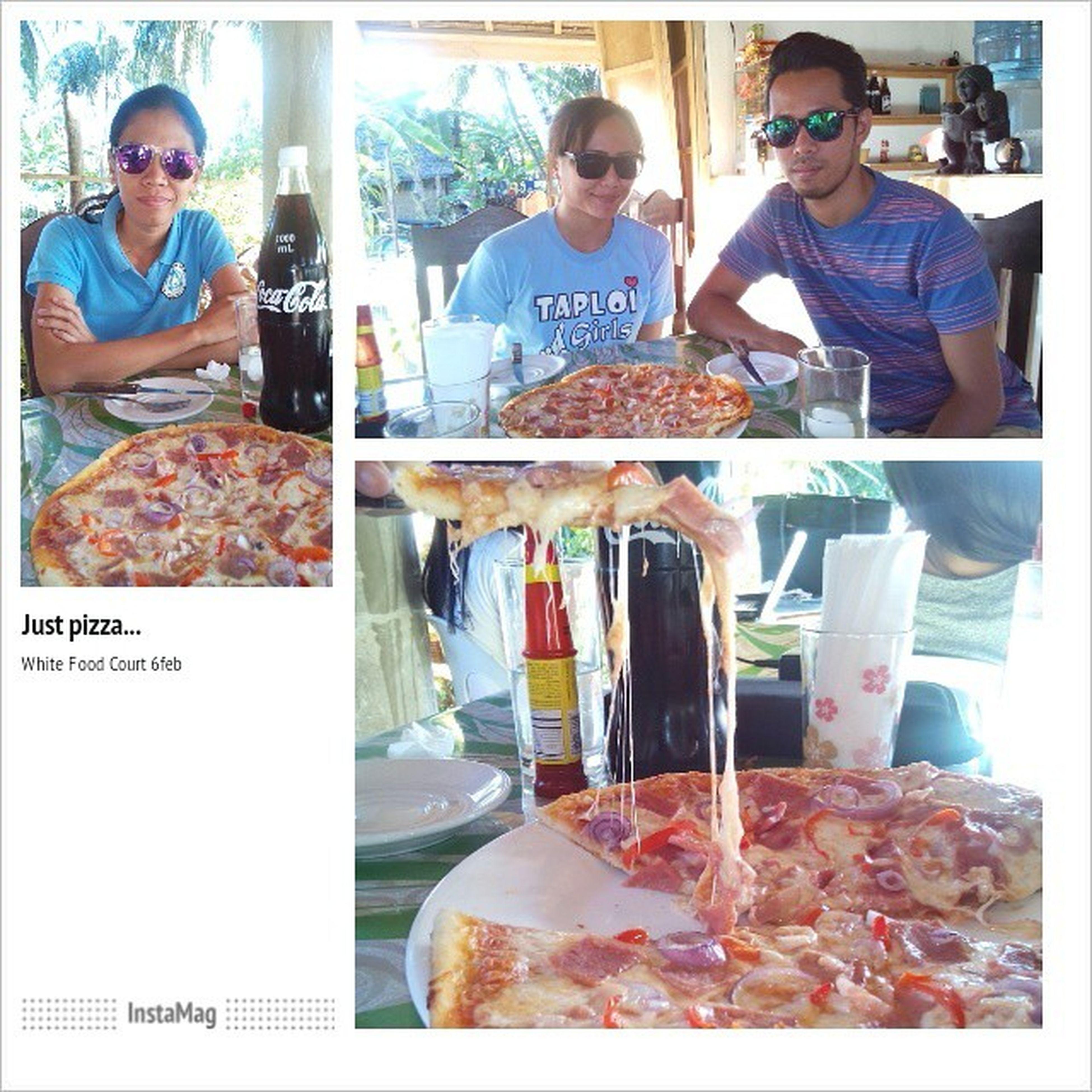 Pizza for the jobless. Poor us 3. Pizza Whitefoodcourt Instagram Sanjuan siquijorisland InstaMagAndroid 6feb