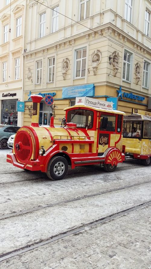 Ukraine 💙💛 Ukraine, Lviv Market Square Turistic Train Cleaning My Account At EyeEm Turistic Places Turistic Attractions Wintertime Let's Do It Chic! Open Edit Taking Photos Showing Why I Could Be An Open Editor Historical Place Winter Streetphotography Walking Around The City