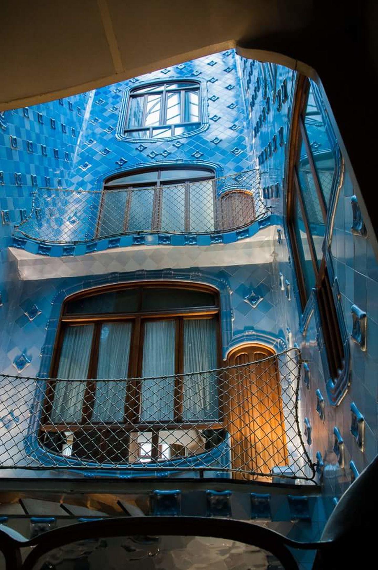 Blue Window Architecture Casa Batllo Travel Destinations Tourism Art TheWeekOnEyeEM Barcelona Streets Architecture