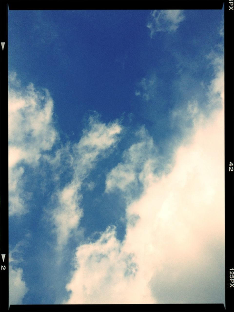 nature, beauty in nature, sky, low angle view, backgrounds, outdoors, scenics, day, tranquility, no people, blue, full frame, cloud - sky, sky only