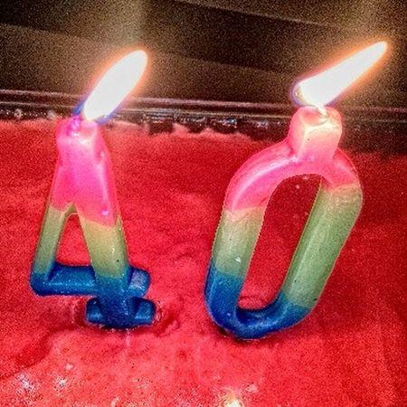 Birthday Birthday Cake Candles gerasa! 40