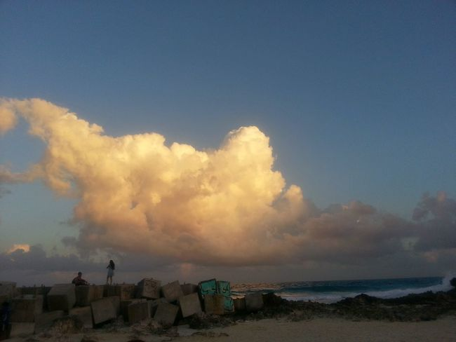 Cloud - Sky Beauty Sunset Forum Cancun Dramatic Sky Ilumination Natural Afternoon Sky Travel Destinations Mar Horizon Over Water Rompeolas Cloud Playa