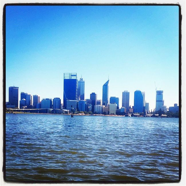 Perfection. I love this city. Perthlife Perthfection Perthcity Perth_life PerthisbetterthanOK happyperth sunshine itsalwayssummer cityviews swanriver iloveperth happinessis perfection