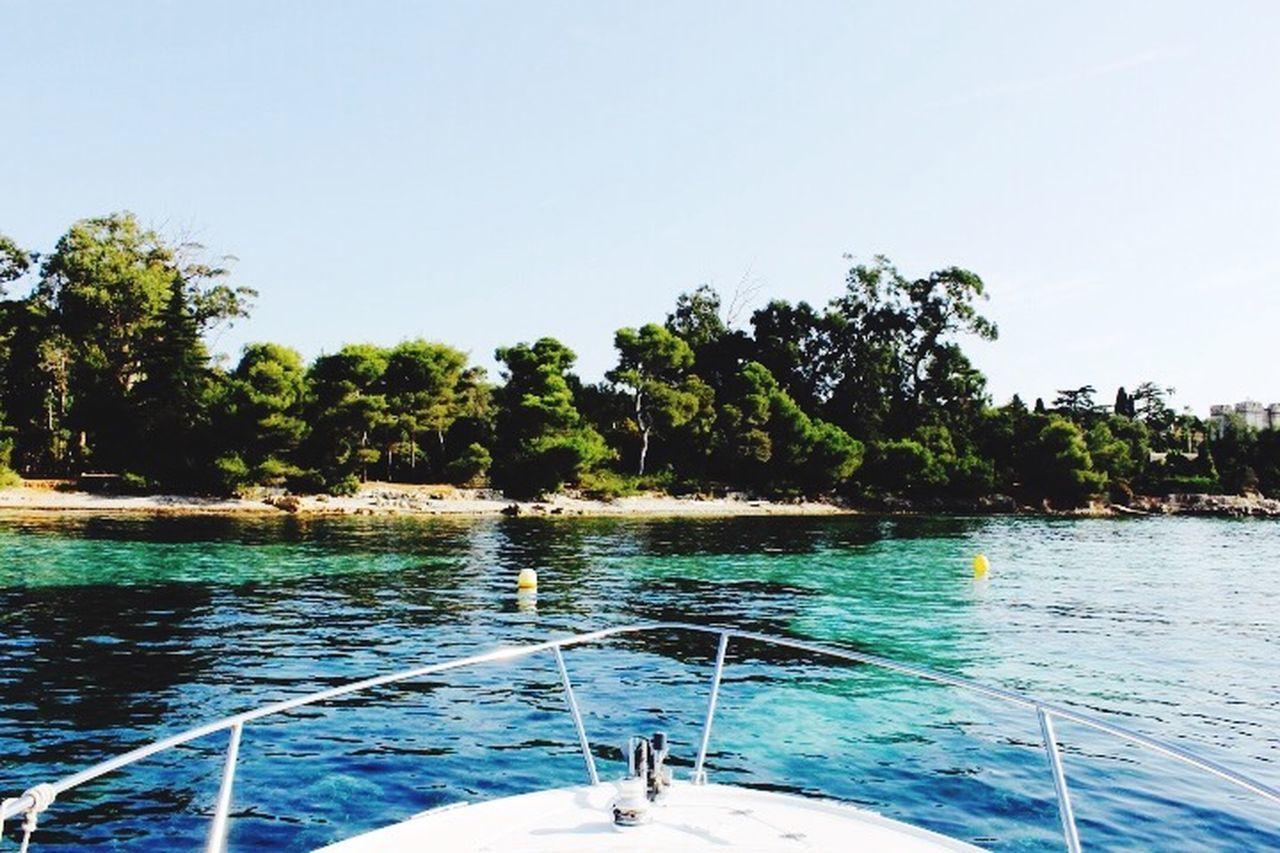These types of landscape... Landscape Seaside OnTheBoat Enjoyingtheview Enjoying Life Lookaround Summertime 50shadesofblue Hello World