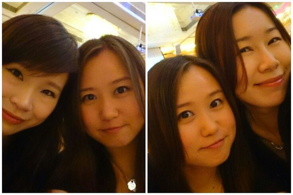 Hanging Out With Friend Happy Day Lovely Girls Beautiful ♥