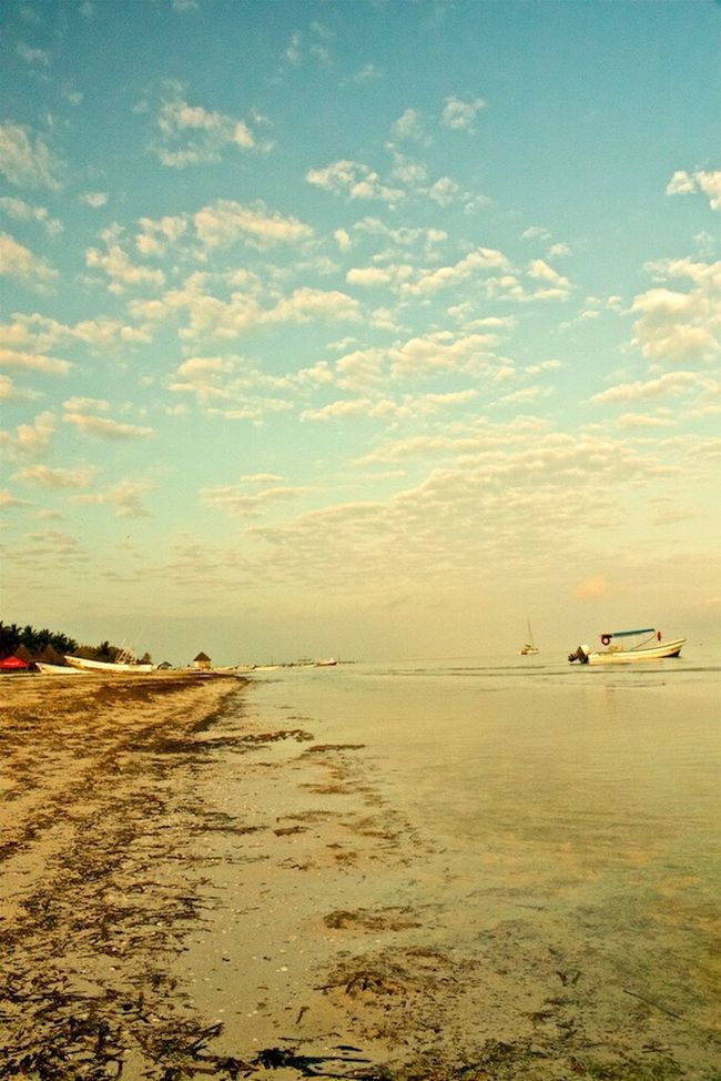 Isla Holbox Mexico Sea And Sky Beach Nature_collection EyeEm Nature Lover EyeEm Best Shots - Nature First Eyeem Photo Eyeem Yucatán EyeEm Gallery Eyeem Boats