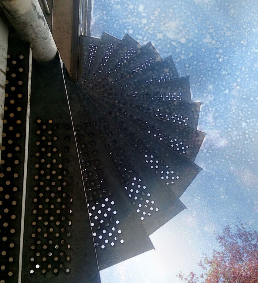 Buildings Clouds And Sky Design From My Point Of View Look Up Modern Sky Stairs Stairway To Light Steel Sunray
