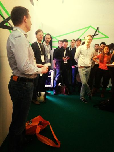 Clean Pitch From #cleaningberlin #hrk13