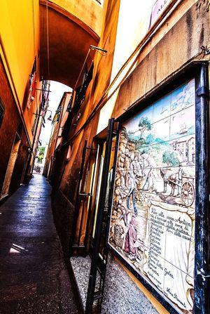 Cogoleto Built Structure Architecture Graffiti No People Building Exterior Day Indoors  Italia Travel Destinations