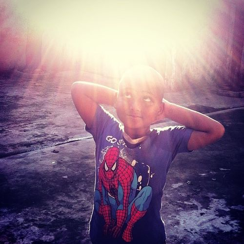 the bald spiderman! Js Daily Life Light Ray Shadow IPhone Iphoneonly Insta Instapic Instagood Webinsta Dailybest Pictureoftheday Photography Photojournalism Documentary Instagram Chottogram The Portraitist - 2017 EyeEm Awards