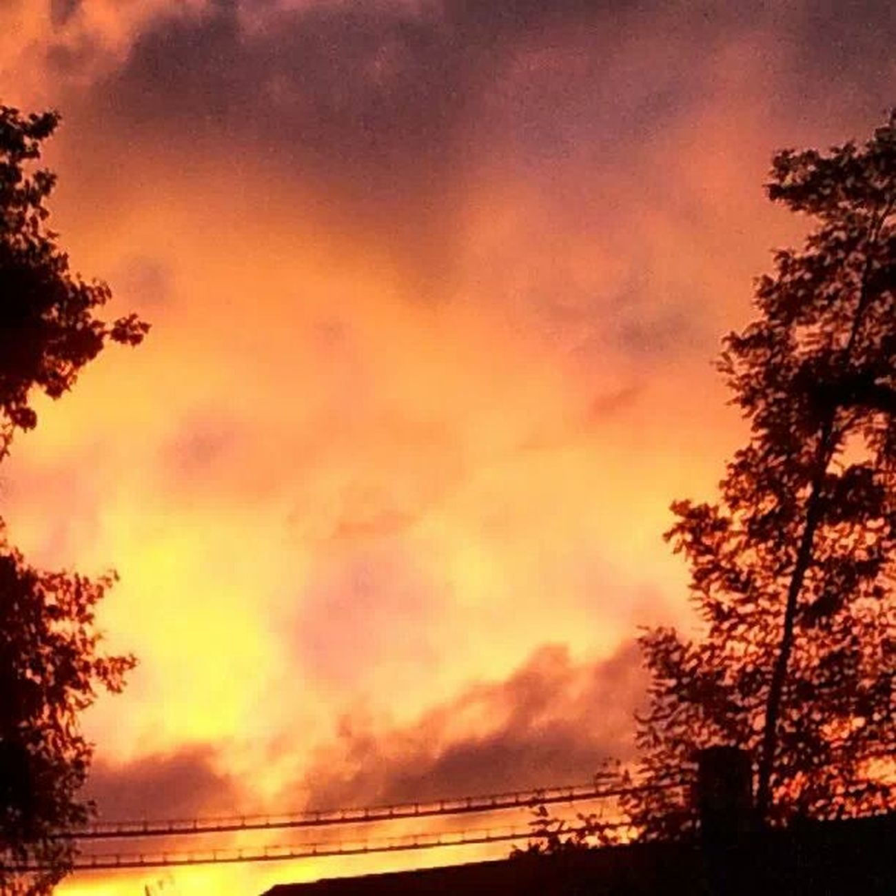 No Edits No Filters Clouds On Fire