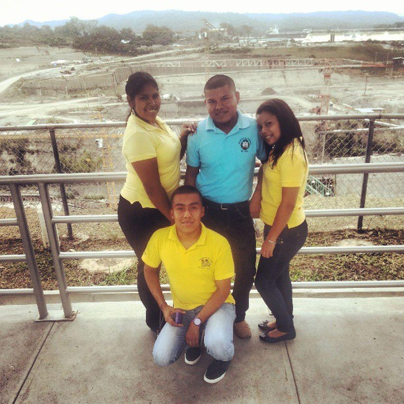 Friends EnElAtlantico CentroDeObservacionDeLaAmpliacion Colon C3 Wonderful Amazing PanamaCanal @canaldepanama GiraAcademica EconomySchool
