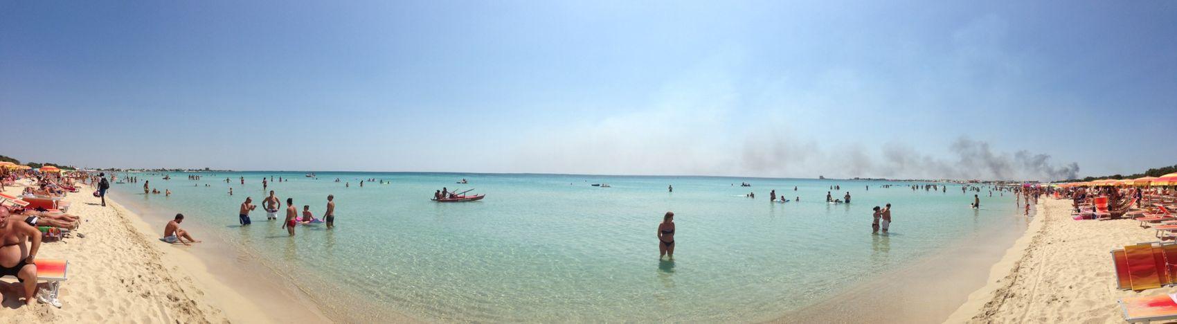 Hai detto mare? Italia #salento #portocesareo Panorama