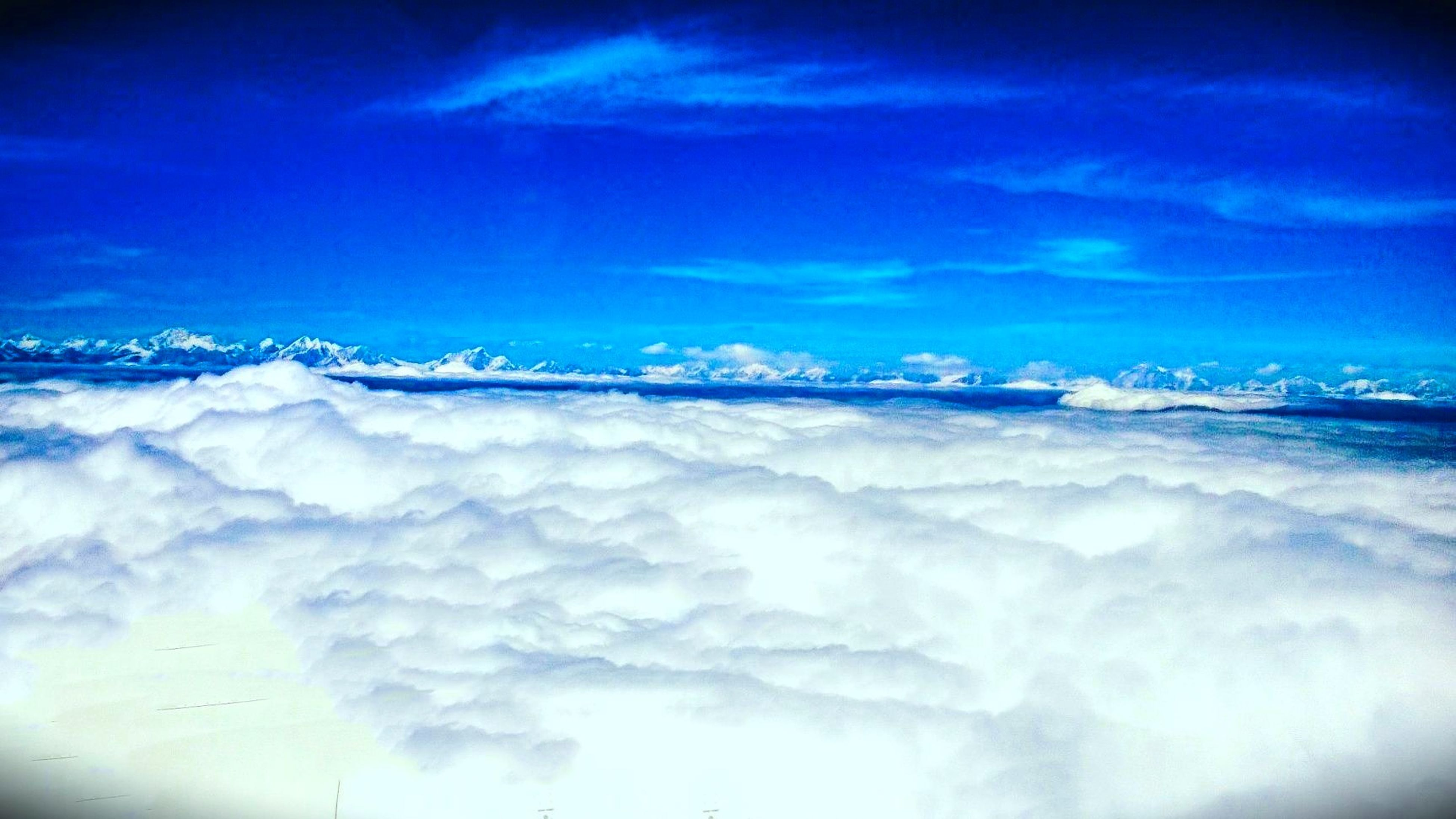 beauty in nature, nature, blue, scenics, sky, tranquility, white color, tranquil scene, no people, cloud - sky, cold temperature, outdoors, snow, day, winter, iceberg, scenic view, airplane wing