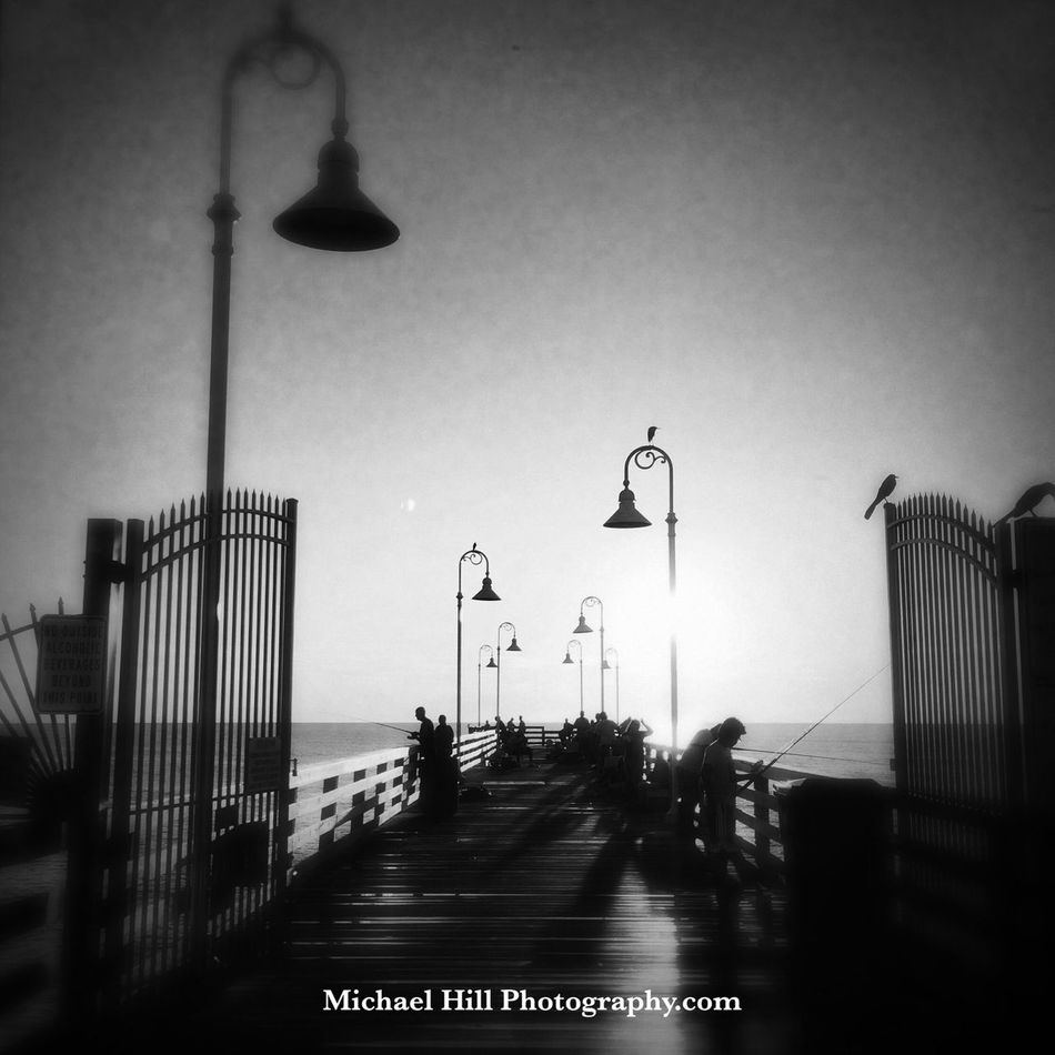 Dock lyfe Hipstamatic Blackandwhite Pier Beach Capture The Moment