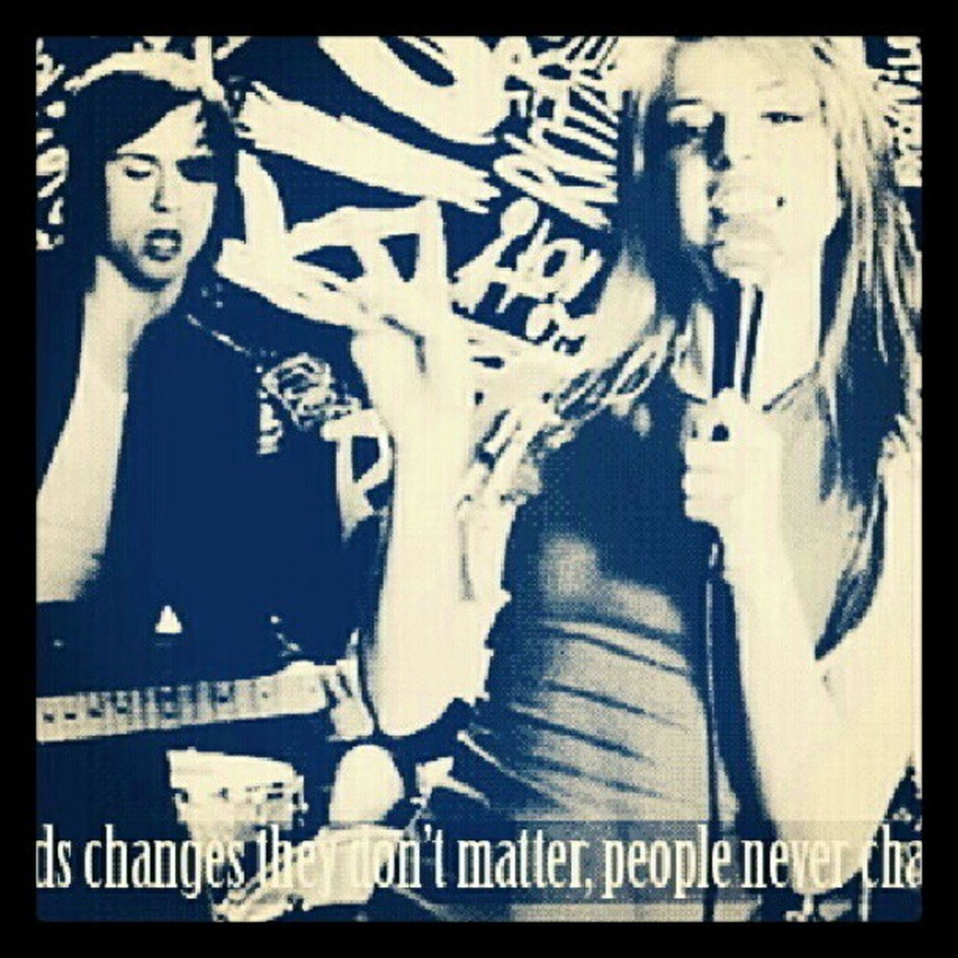 PARAMORE part 1: Second chances they don't matter, people never change. Truth Instasunday Instaquote Instaquotesunday