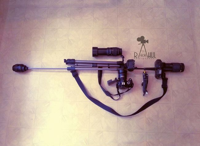 🎬🎥📷📹🎭Photography The Only Weapon That Shoot Memories...!! My Gun My Weapon Nikon Dslr My Creative Shots 500likes The Moment - 2015 EyeEm Awards
