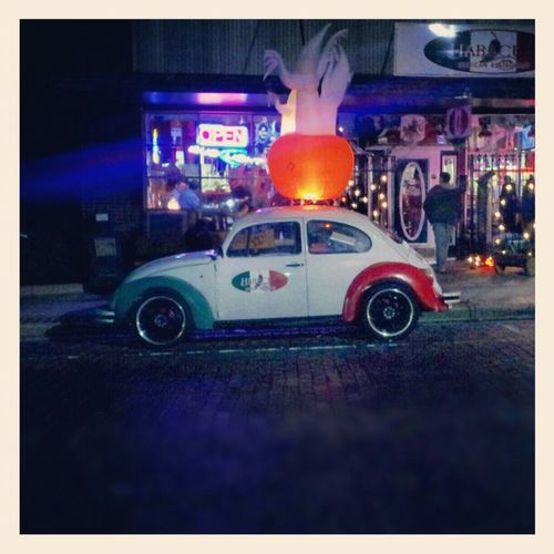 Night Lights Volkswagen Mexican VW Beetle