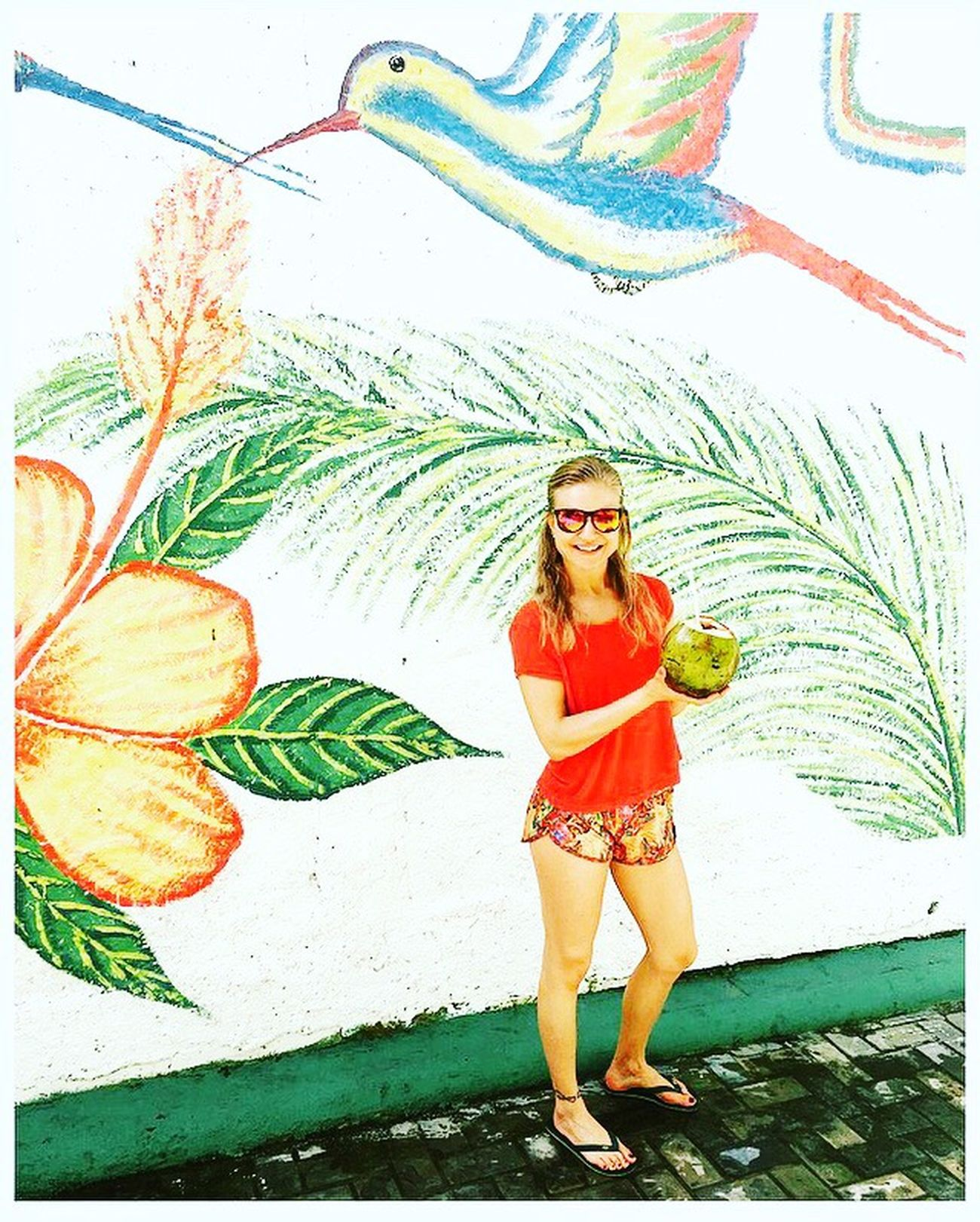 Brazil ❤ Holydays Coconut Colorfull Bahia ☺️🇧🇷👯
