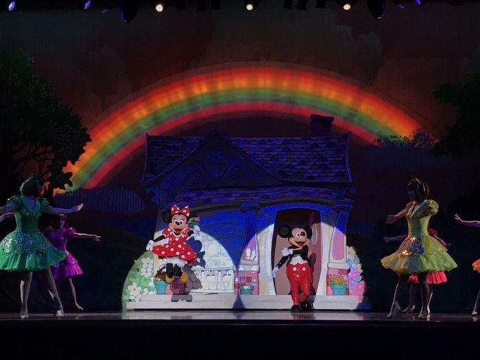 One Man's Dream Tokyo Disney Land Disney Mickey Mickey Mouse Minnie Minnie Mouse Jump 🏰🎀🐭👑💫