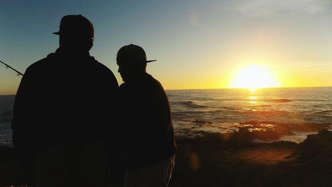 Landscape California Sunset Ocean Fishing Oceanfishing Fortbragg Medicino Family Fishing Trip Goodtime