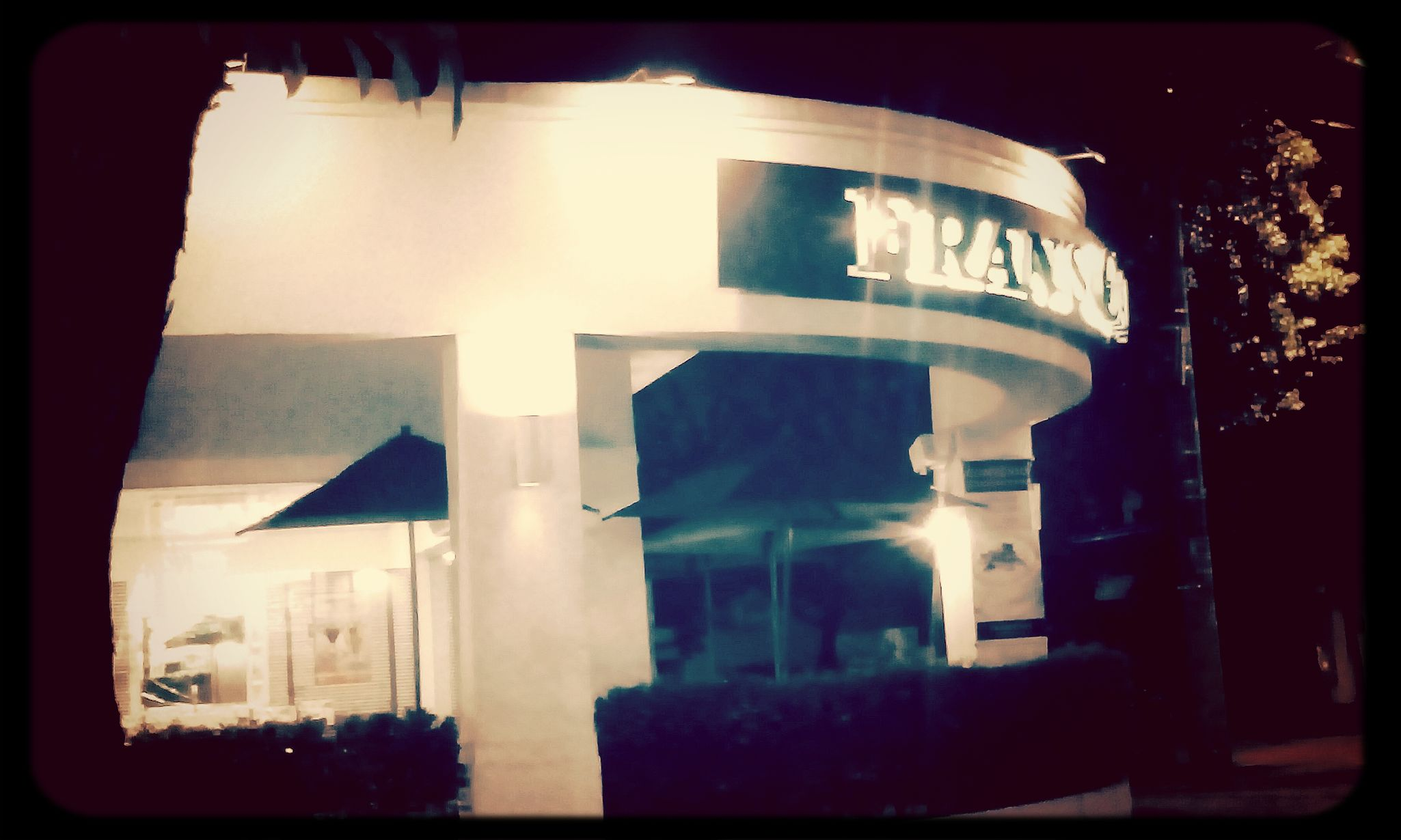 Frans Cafe Coffee Night