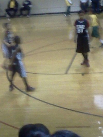 My Lil Brother Basketball Game