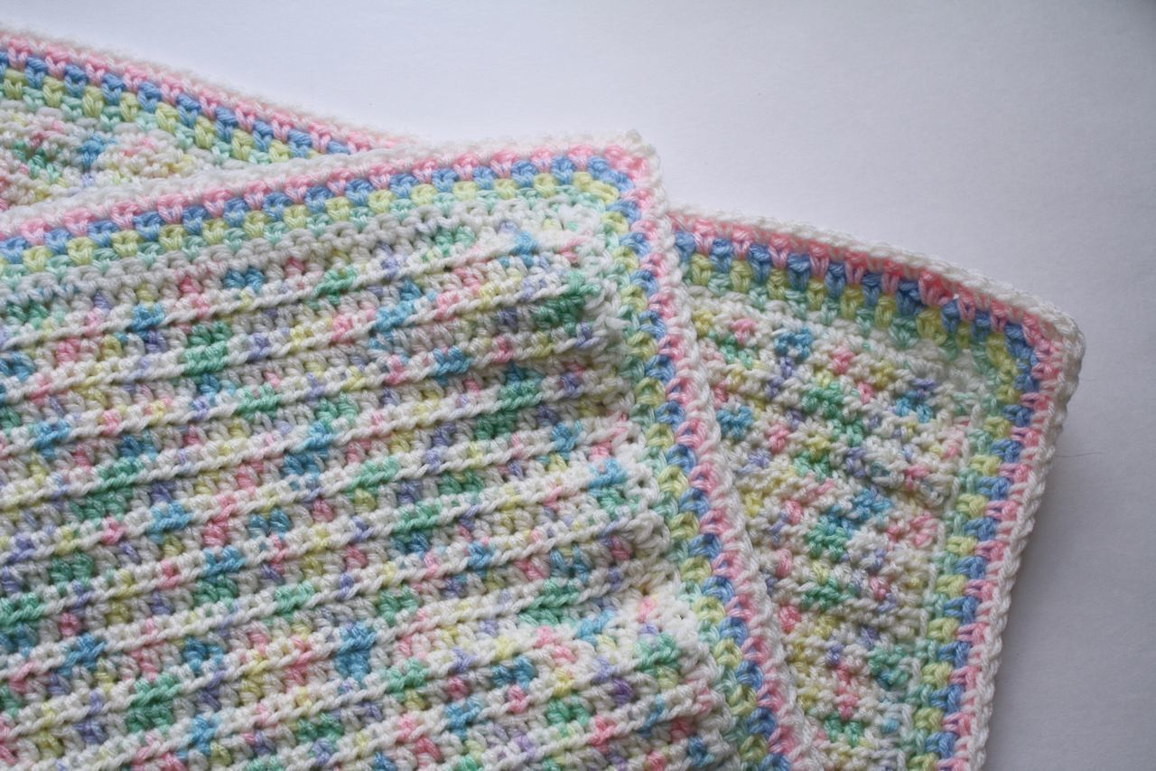 Pattern Studio Shot No People Multi Colored Skill  Close-up Knitted  Indoors  White Background Crochet Blanket Pastel Power