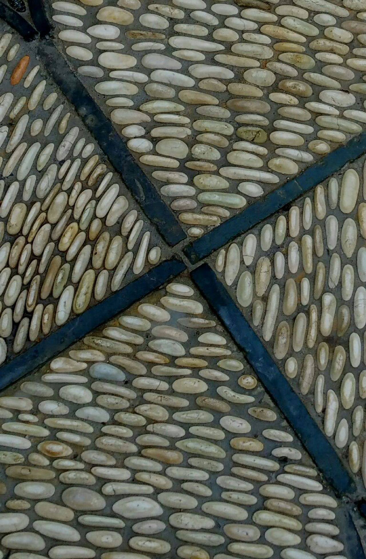 Pattern Pieces Sidewalk Pebbles Sidewalk Photograhy Street Photography Pattern, Texture, Shape And Form Pattern Texture Simple Q Quadrant Quadrants Stone Tile Design