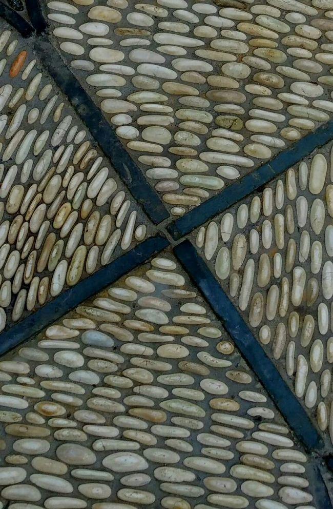 Pattern Pieces Sidewalk Pebbles Sidewalk Photograhy Street Photography Pattern, Texture, Shape And Form Pattern Texture Simple Q Quadrant Quadrants Stone Tile Design