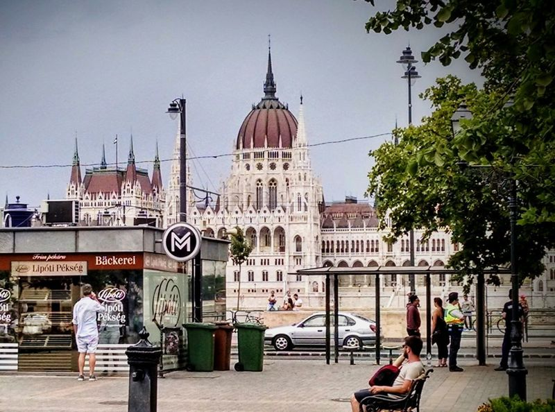 Budapest Love 💟 Travel Destinations Business Finance And Industry City Outdoors Architecture People Clock Face Clock Tower Clock Day Minute Hand