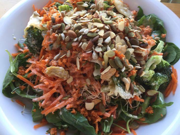 Grain and salad bowl Foodspotting