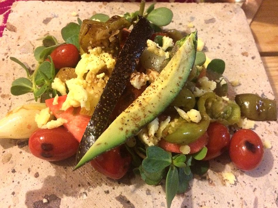 A Taste Of Life Salad Ensalada Verdolaga Food Foodporn