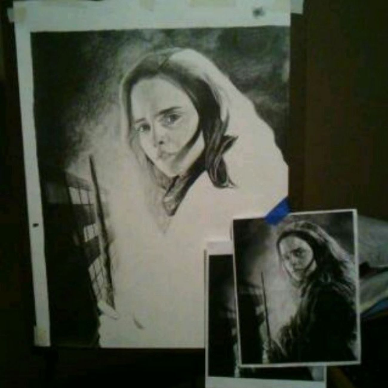 It's coming along... slowly but surely .... hope itll be done this week :) Todayinart Hermione Ebony Art1
