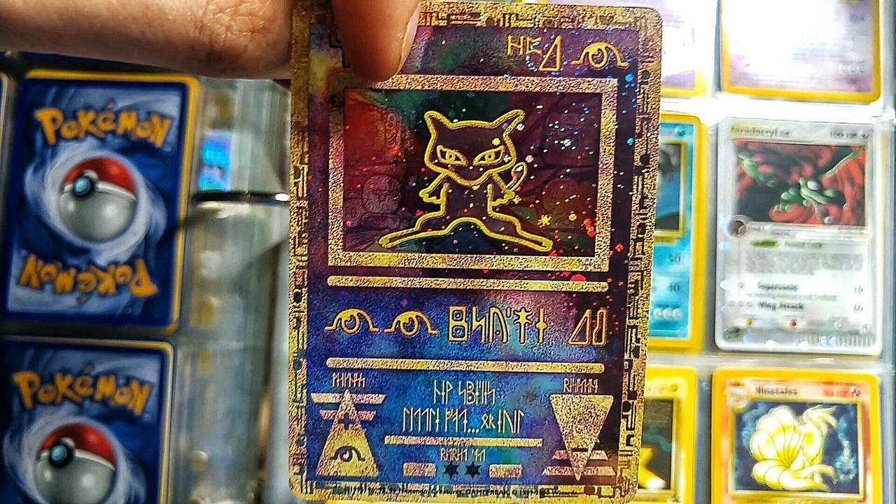 Just been looking through my old pokemon collection Pokémon Pokemon Go Acient Mew Acient Pokemon Cards Pokemon Trading Cards Nintendo EyeEm Thumbnail Collection