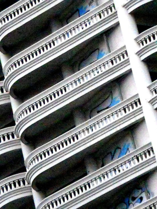 Architecture Balconies Balconies Around The World Balcony Building Exterior Close-up Day No People Stack Stone Thailand